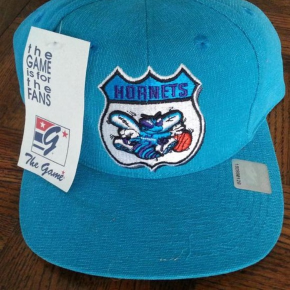 promo code 9369c a5697 Charlotte Hornets Vintage New Snapback Hat Cap NBA